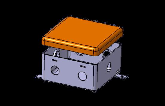 طراحی و ساخت انواع جعبه تقسیم برق