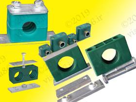 hydraulic clamp،بست هیدرولیک]بست لوله هیدرولیک، stauff، spal 6048.3 alu stauff
